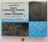 Reed's Engineering Drawing for Marine Engineers vintage 1970s maths text book